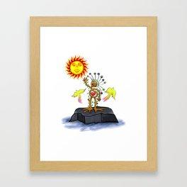 Nature Man Framed Art Print