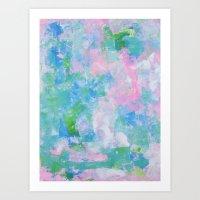 monet Art Prints featuring Monet by Shirleen Wong Studio