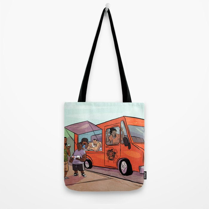 Cupcakes & Summertime Tote Bag