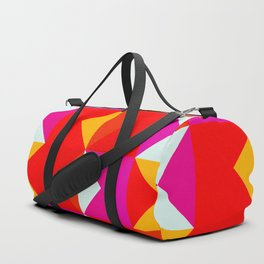 Girlpower Geometric Pattern Obia Duffle Bag