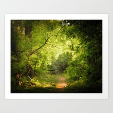 The Secret Path Art Print