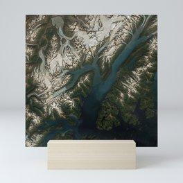 College Fjord, Prince William Sound, Alaska Mini Art Print