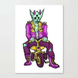 Trikewolf Canvas Print