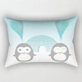 Artic hearts Rectangular Pillow