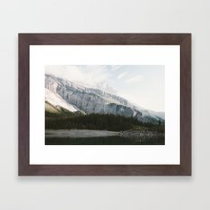 Airy Mountain Lake - Landscape Photography Framed Art Print