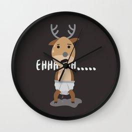 ehhh Wall Clock