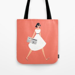 Sunday Paper Tote Bag