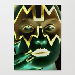 Kiss Ace Canvas Print
