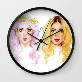 We Are Girls  Wall Clock