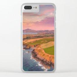 Porth Bryn Gwydd Clear iPhone Case