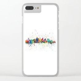 BostonSkyline Clear iPhone Case
