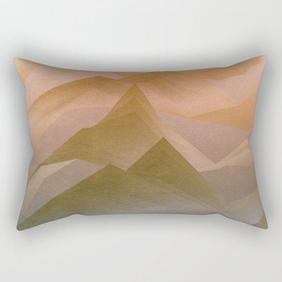 Top of the World (Sunrise) Rectangular Pillow