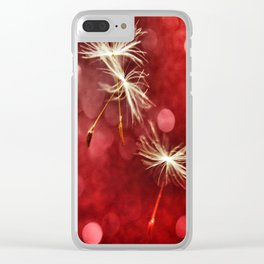 Wishing for Love Clear iPhone Case