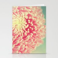 peony Stationery Cards featuring Peony by shih