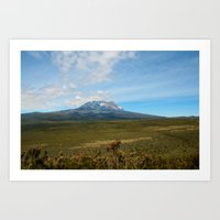 Kilimandjaro Art Print