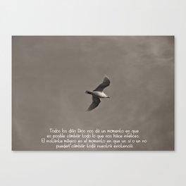 Vuelo libre Canvas Print