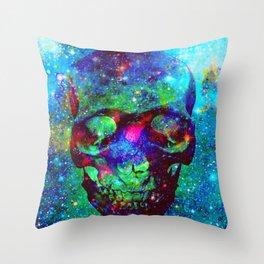 Star Skull  Throw Pillow