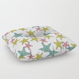 starfish tropical print Floor Pillow