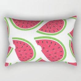 Watermelon Summer Rectangular Pillow