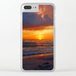 Captiva Sunset Clear iPhone Case