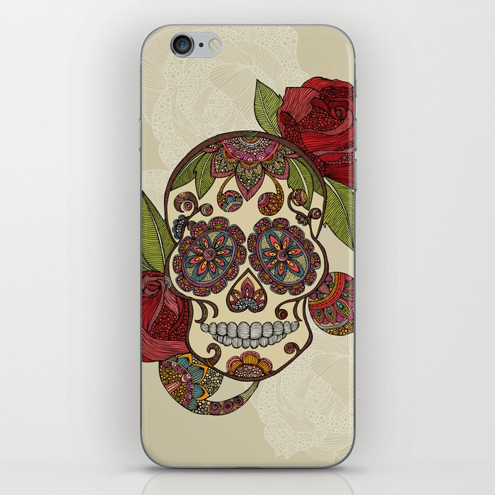 Sugar Skull iPhone Skin