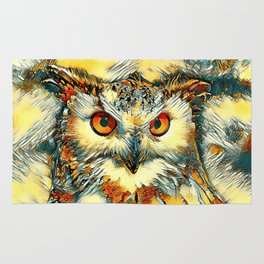 AnimalArt_Owl_20170912_by_JAMColorsSpecial Rug