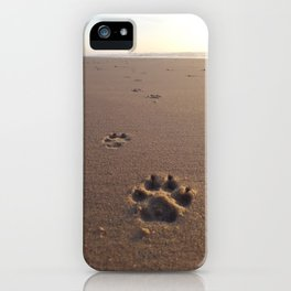 Footprints iPhone Case