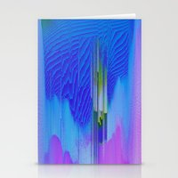 waterfall Stationery Cards featuring Waterfall by DuckyB