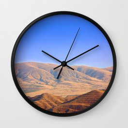 Mountains in Crimea Wall Clock