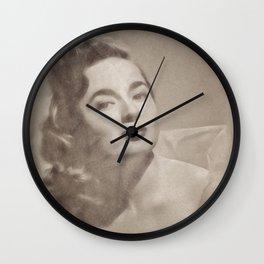 Ann Blyth by JS Wall Clock