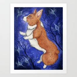 Dancing with the Faerie Art Print