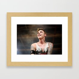 Andy Biersack | Black Veil Brides Framed Art Print