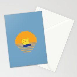 The Electrified Summer: In Search of the Perfect Thunder Wave Stationery Cards