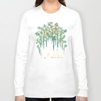 forest Long Sleeve T-shirts featuring Re-paint the Forest by Picomodi