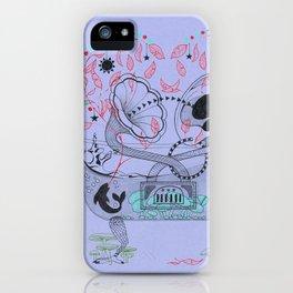 Music bathtub. iPhone Case