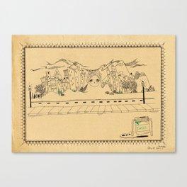 Creative Village Canvas Print