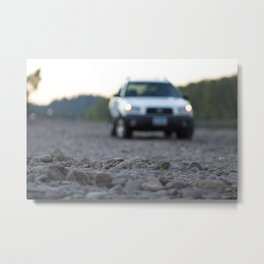 Forester on Rockshore Metal Print