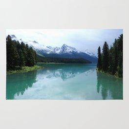 The Spirit of Maligne Lake Rug