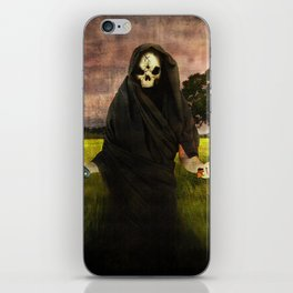 Death loves you iPhone Skin