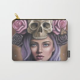 Death's Head Carry-All Pouch