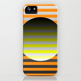 Spin Around In Circles iPhone Case