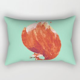 Kitsune (Fox of fire) Rectangular Pillow