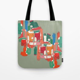 body interaction Tote Bag