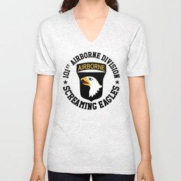 Screaming Eagles Unisex V-Neck