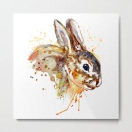 Mr. Bunny Metal Print