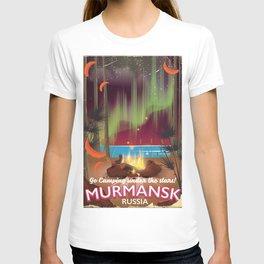 "MURMANSK ""Camping under the stars"" T-shirt"