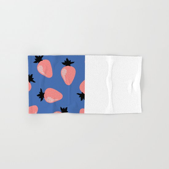 Strawberries Hand & Bath Towel