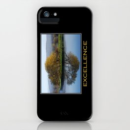 Inspirational Excellence iPhone Case