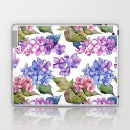 Hydrangea Pattern 03 Laptop & iPad Skin