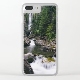 Colorado Hidden Waterfall Clear iPhone Case